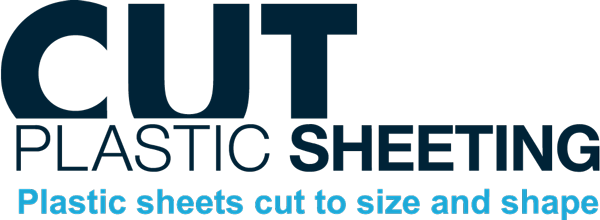 Cut plastic sheeting logo