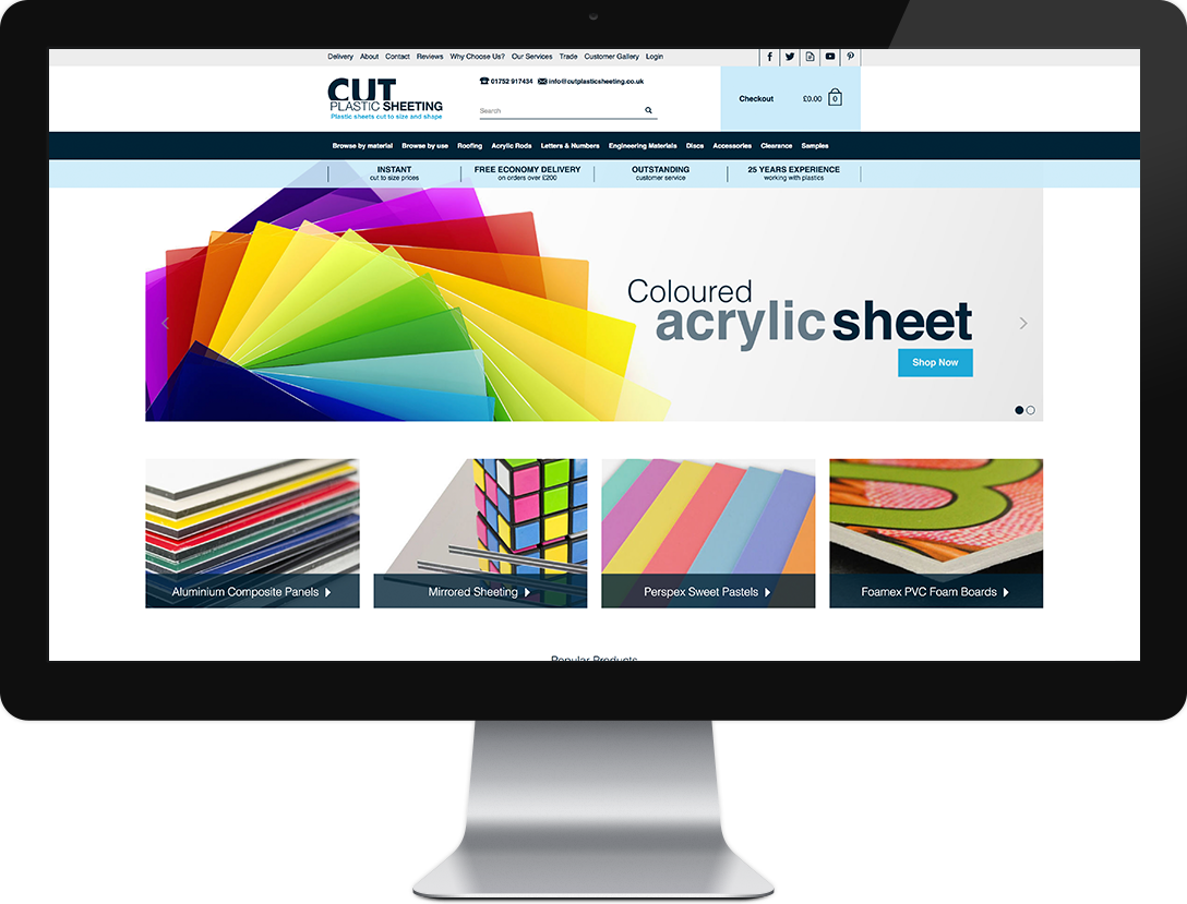 Cut Plastic Sheeting website